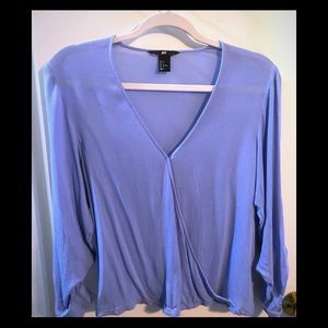 H&M wrap style top